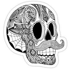 sugar skulls surviving the dead