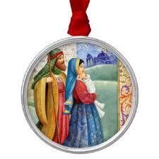 jesus joseph ornaments keepsake ornaments zazzle