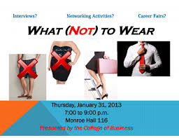 college of business hosts what not to wear event eagleeye
