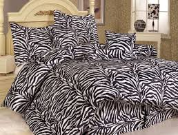 Zebra Print Single Duvet Set Zebra Print Bedrooms Photos And Video Wylielauderhouse Com