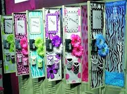 Ideas To Decorate Your Locker At School coryc