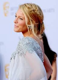 soft updo hairstyles blake lively braided loose bun updo hairstyles weekly