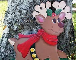 Wooden Christmas Decorations For Outdoors by Christmas Yard Art Etsy