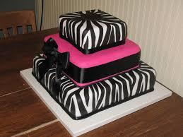 square zebra cake zebra stripe cake before the flowers were