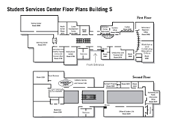 floor plans with photos student services center floor plans building s