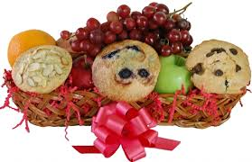 muffin basket delivery a one of a gift albany ny gift baskets muffins fruit gift