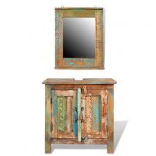 Distressed Wood Bathroom Vanity Bathroom Ideas Distressed Reclaimed Wood Bathroom Vanity With