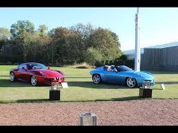 two alfa romeo disco volante coupe u0026 spyder start up revs