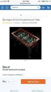 hathaway matrix 54 7 in 1 multi game table reviews barrington 54 inch foosball soccer table games toys in houston tx