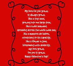valentines for him day poems for him startupcorner co
