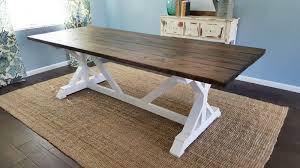 Farm House Table Fancy X Farmhouse Table Parris Design Co