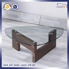 coffee table triangle glass coffee table regarding voguish glass