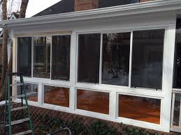 screened porch belk builders completes a screened porch to sunroom conversion in