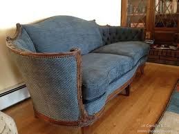 Vintage Tufted Sofa by Completed Furniture Upholstery Projects