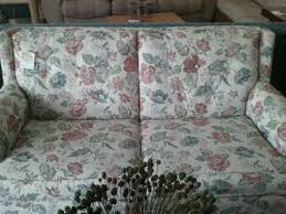 sofa flower print floral print sofa cherry pickin u0027s home furnishings consignment