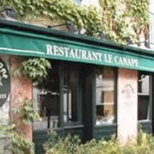 le canape gif sur yvette le canapé restaurants place eglise gif sur yvette essonne