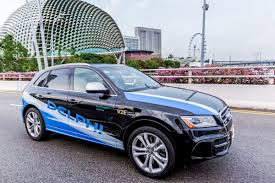 car service delphi tests self driving car service in singapore the verge