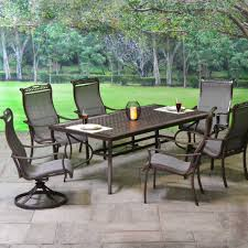 American Patio Furniture by Concord Aluminum Sling Patio Dining Sets Patio Furniture Outdoor