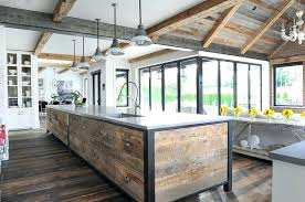 reclaimed kitchen island reclaimed wood ceiling reclaimed wood planks on kitchen island