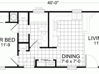 16 X 32 House Plans Homes Zone 16 X 50 Floor Plans