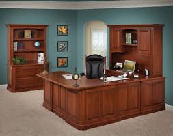 strong sturdy hand crafted amish made furniture buckingham office set