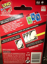 classic uno card with customizable cards made in the usa