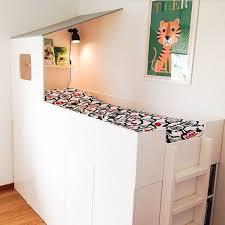ikea kitchen cabinet storage bed mommo design ikea hacks bed on ikea kitchen cabinets