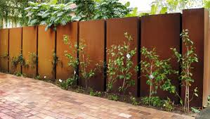 garden fence panels metal home outdoor decoration