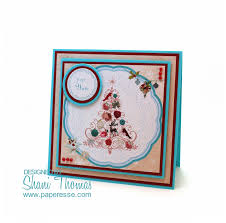 paperesse for you bellissima topper christmas tree card