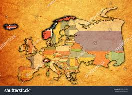 Political Map Of Europe by Political Map Europe Flags Member Countries Stock Illustration