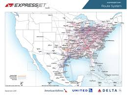 united airlines hubs expressjet sees atlanta become number one hub
