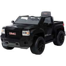 truck gmc rollplay gmc sierra blackout series truck 6 volt battery powered