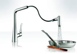 faucet hansgrohe metro higharc kitchen faucet