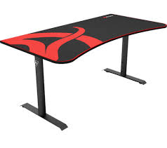 Buy Gaming Desk Buy Arozzi Arena Gaming Desk Black Free Delivery Currys