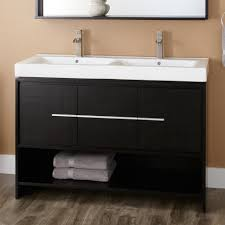Bathroom Vanity Shelf by Bathroom Design Natural Black Wooden Costco Bathroom Vanity