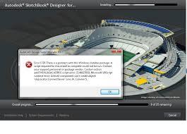 autocad design problems in installing autocad design suite ultimate 2013