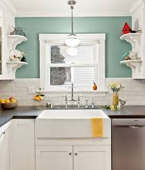 green and white kitchen ideas green wall color with white pendant l for retro styled