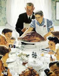 norman rockwell thanksgiving wallpaper wallpapersafari