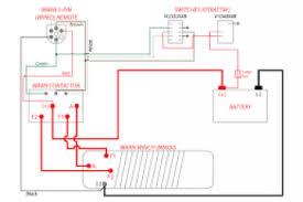 winch wiring diagram two solenoid wiring diagram