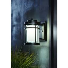 home decorators collection black outdoor led small wall light