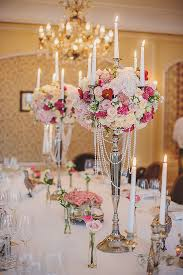 candelabra centerpieces candelabra centerpieces decorated with roses