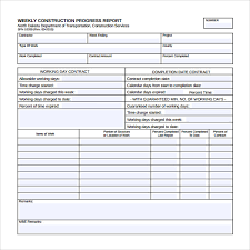 academic progress report template downloadable weekly construction progress report template exle