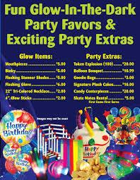 blacklight party supplies birthday great skate of glendale az roller inline