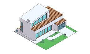 architecture gif the simpsons home reimagined in popular architectural styles