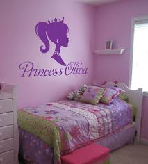 personalized princess collection wall stickers for girls princess personalised wall decal sticker