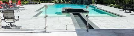 the smart homeowner u0027s guide to choosing pool deck railings
