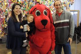 Clifford Big Red Dog Halloween Costume Special Events Long Island Children U0027s Museum