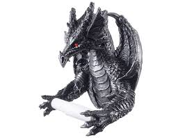 novelty toilet paper holder celebrate your inner targaryen with this realistic looking dragon