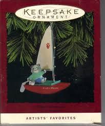 hallmark keepsake s catamaran cat ornament hallmark cat