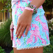 S Well Lilly Pulitzer by Loving This Custom Lilly Shorts I Believe In Pink